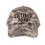Trump 2020 Army Digital  Election 2020 Hat Baseball Cap