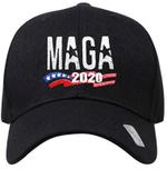MAGA 2020 American Flag Black Election 2020 Hat Baseball Cap