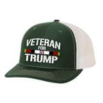 Afghanistan Veteran For Trump Trucker  Election 2020 Hat Baseball Cap