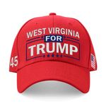West Virginia For Trump Red Election 2020 Hat Baseball Cap