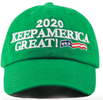 Trump Keep America Great Green Election 2020 Hat Baseball Cap