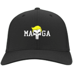 Trump Maga Punisher Black Election 2020 Hat Baseball Cap