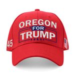 Oregon For Trump Red Election 2020 Hat Baseball Cap
