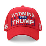 Wyoming For Trump Red Election 2020 Hat Baseball Cap