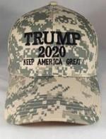 Trump 2020 Digital Camo Keep America Great Election 2020 Hat Baseball Cap