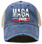 Trump MAGA 2020 US Flag Navy Election 2020 Hat Baseball Cap