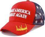 MAGA Trump Signature  American Flag Mesh Election 2020 Hat Baseball Cap