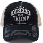Bikers For Trump Black Election 2020 Hat Baseball Cap