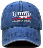 Trump Keep America Great Dark Denim Election 2020 Hat Baseball Cap