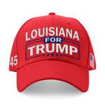 Louisiana For Trump Country Election 2020 Hat Baseball Cap