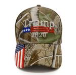 Bullrun Donald Trump 2020 Hat Mossy Oak Camo  Election 2020 Hat Baseball Cap