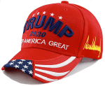 Vote For Trump Signature Red Election 2020 Hat Baseball Cap