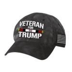 Afghanistan Veteran For Trump Gray Election 2020 Hat Baseball Cap