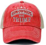 Gun Owners For Trump Red Election 2020 Hat Baseball Cap