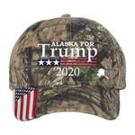 Alaska For Trump Election 2020 Hat Baseball Cap