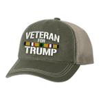 Desert Storm Veteran For Trump  Election 2020 Hat Baseball Cap
