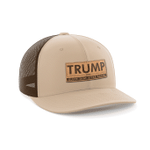 Trump Elect That M'fer Again Leather Patch Election 2020 Hat Baseball Cap