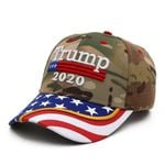 Trump 2020 Camo USA Flag Election 2020 Hat Baseball Cap