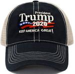 Trump 2020 Keep America Great Black Election 2020 Hat Baseball Cap