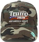 Trump Keep America Great  Wood Camo Election 2020 Hat Baseball Cap