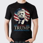 There's Nothing Smart About You Joe American Flag Donald Trump Debate Election 2020 T-Shirt
