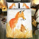 Fox In The Field Bedding Set Bedroom Decor