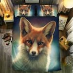 Fox With Beautiful Eyes Bedding Set Bedroom Decor
