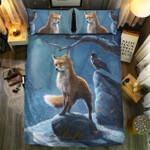 Fox In Winter Bedding Set Bedroom Decor