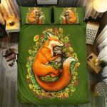 Mother And Child Fox Bedding Set Bedroom Decor