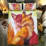Fox Couple Bedding Set Bedroom Decor
