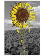 You Are My Sunshine Sunflower Inspiration Quote Gifts Vertical Poster