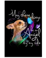 May There Always Be An Angel By My Side Lovely Chihuahua Design Vertical Poster
