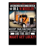 Attention 2 And 4 Wheelers Have You Ever Seen A Tire Blow Gifts Vertical Poster