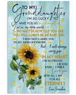 No Matter How Old You Are Will Always Be Me Baby Girl Lovely Message From Grandma Vertical Poster