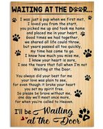 Waiting At The Door I'll Be Waiting Gifts Vertical Poster