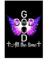 God Is Good Simple Unique Custom Design Vertical Poster