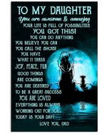 Lion Dad Gifts For Daughter You Are Awesome And Amazing Vertical Poster