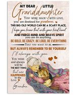 My Dear Little Granddaughter You Were Made With Love Gifts Vertical Poster