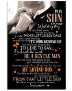 Lovely Message For Wedding Day From Mom Gifts For Sons Vertical Poster