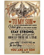 Fire Dragon Mom Gifts For Son Always Remember How Much I Love You Vertical Poster