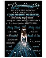You Are Strong And Smart And Beautiful Great Gift For Granddaughter Vertical Poster