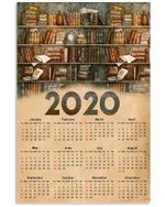 Librarian 2020 Poster Custom Design Gifts For Book Lovers Vertical Poster