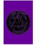 Jiu Jitsu Lifestyle Triangle Trending Gift For Jiu Jitsu Lovers Vertical Poster