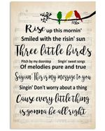 Cause Every Little Thing Is Gonna Be All Right Custom Design Vertical Poster