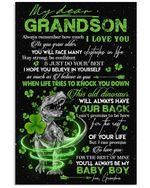 To My Grandson You Will Always Be My Baby Boy Gifts From Grandma Vertical Poster
