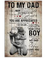 Warm Hug To My Dad Trending For Family Vertical Poster