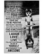 Find Somthing Good In Everyday Gift For Dog Lovers Vertical Poster