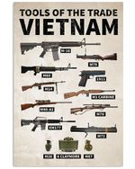 Tools Of The Trade Vietnam Custom Gift For People's Army Of Vietnam Vertical Poster