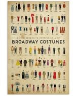 Broadway Costumes Knowledge Unique Custom Design Vertical Poster