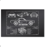 Car Knowledge Special Custom Design For Speed Lovers Horizontal Poster